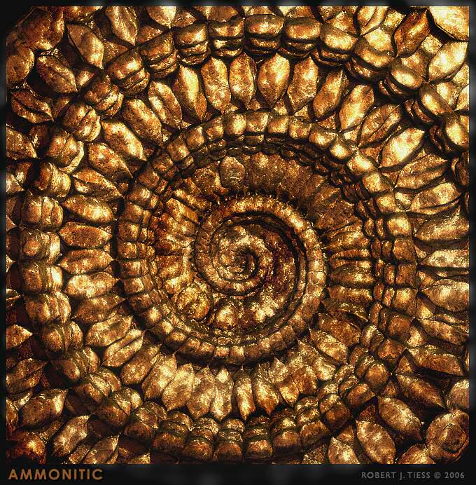 Ammonitic - By Robert J. Tiess