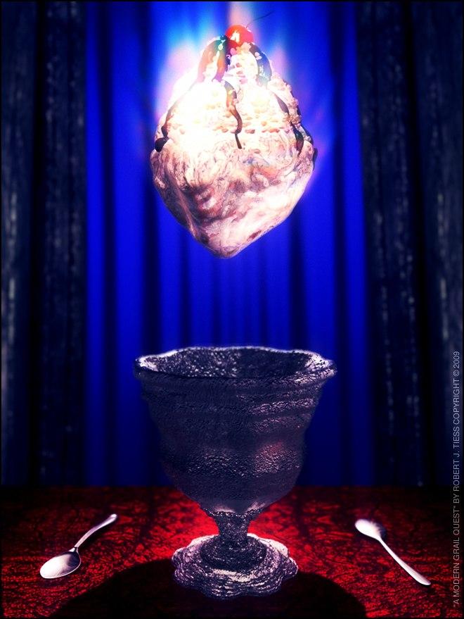 A Modern Grail Quest - By Robert J. Tiess