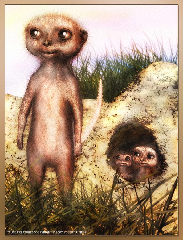 Cute Creatures - By Robert J. Tiess