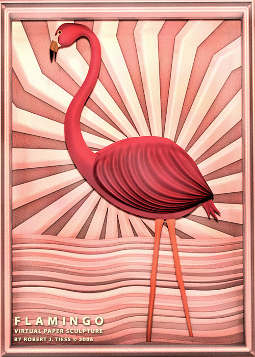 Flamingo - By Robert J. Tiess