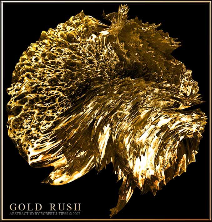 Gold Rush - By Robert J. Tiess
