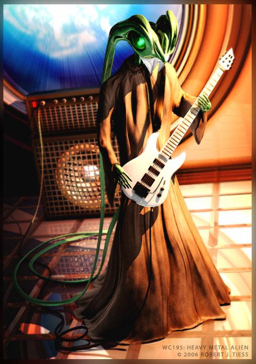 Heavy Metal Alien - By Robert J. Tiess