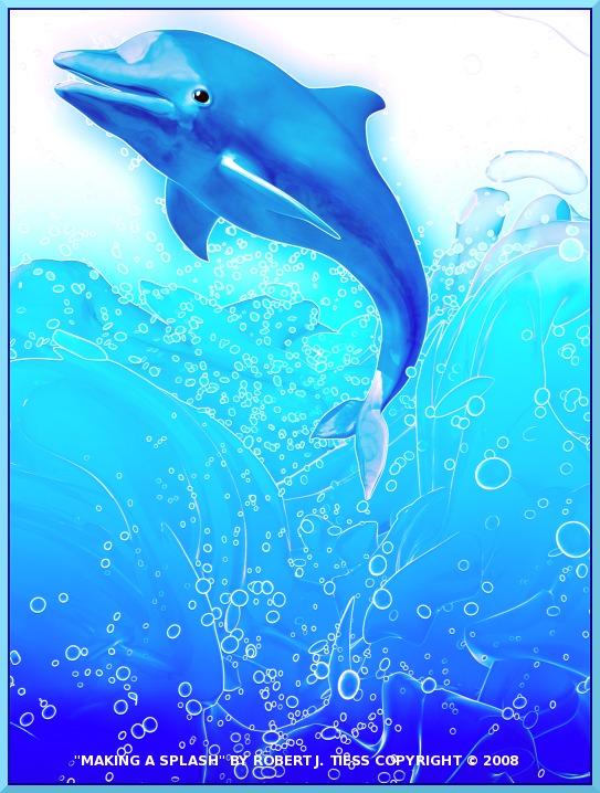 Making a Splash - By Robert J. Tiess