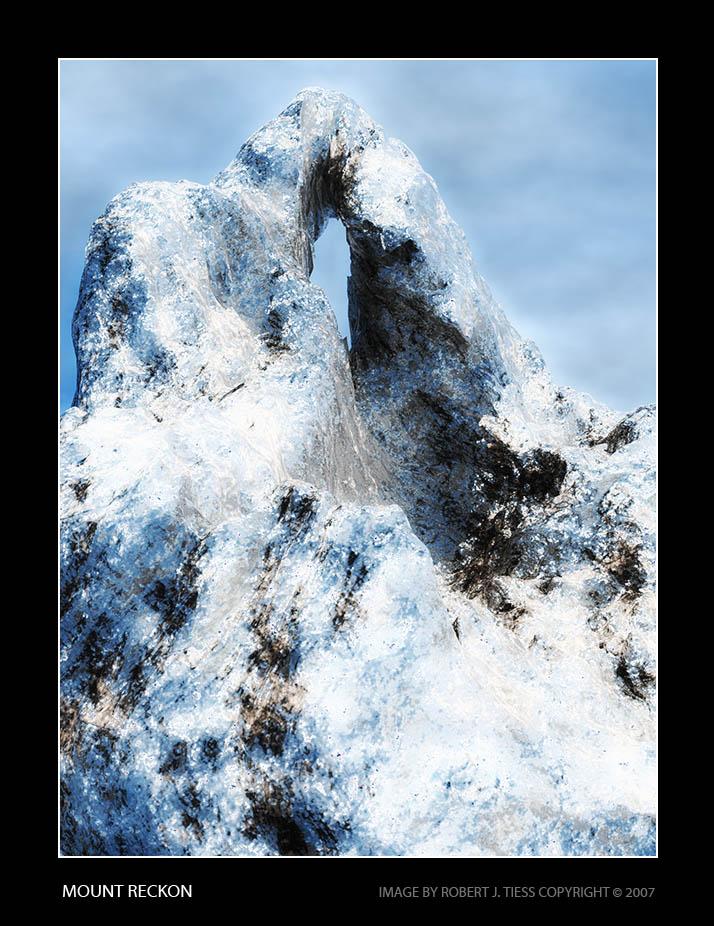 Mount Reckon - By Robert J. Tiess