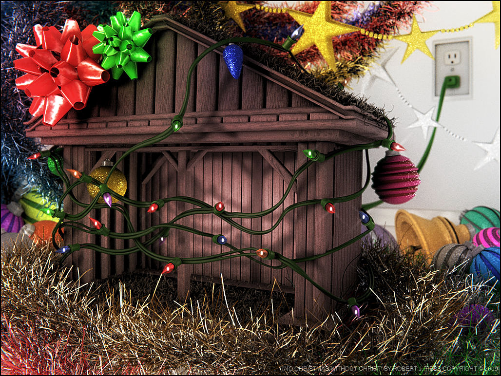 No Christmas without Christ - By Robert J. Tiess