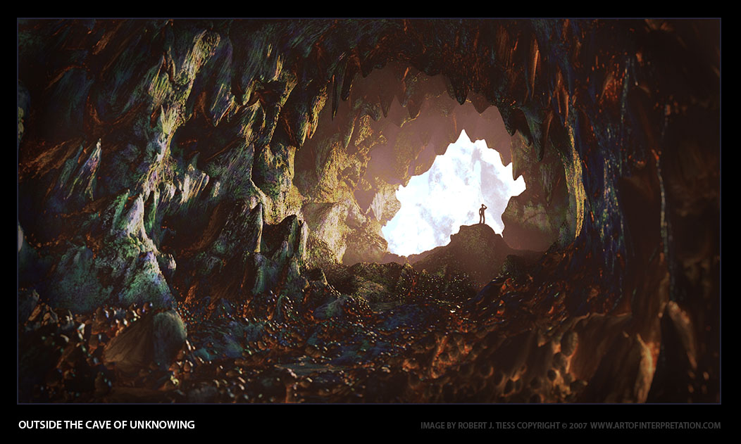 Outside the Cave of Unknowing by Robert Tiess