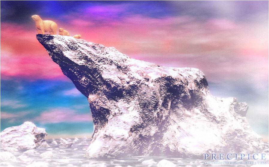 Precipice - By Robert J. Tiess