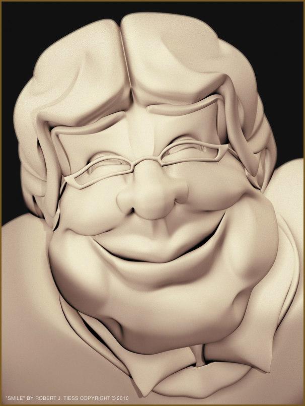 Smile - By Robert J. Tiess