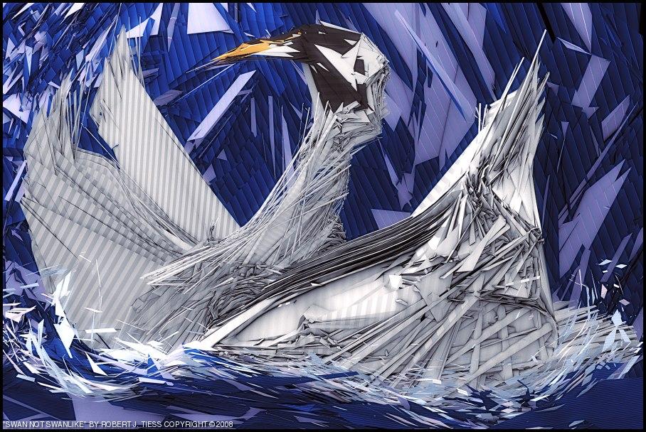 Swan Not Swanlike - By Robert J. Tiess