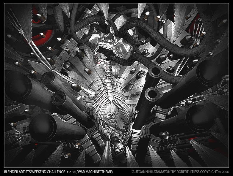 Autoannihilatamaton - By Robert J. Tiess