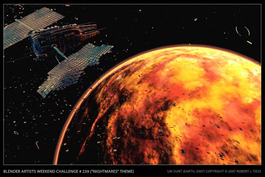 Earth 3007 - By Robert J. Tiess