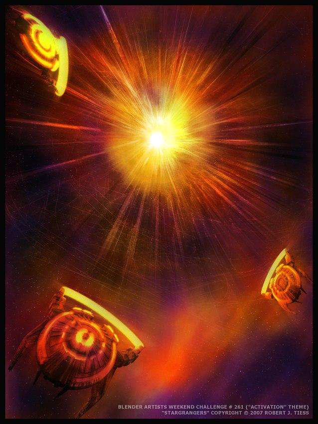 Stargrangers - By Robert J. Tiess