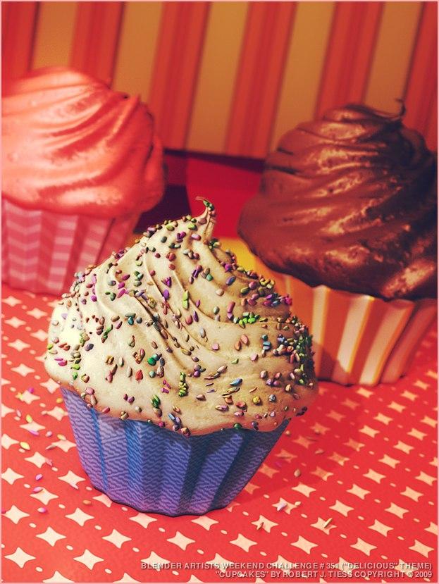 Cupcakes - By Robert J. Tiess
