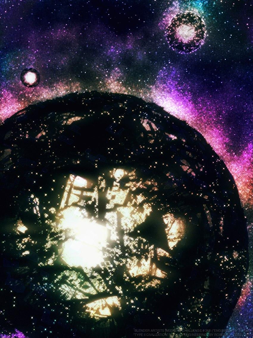 Type II Civilization: Stellar Engineering - By Robert J. Tiess