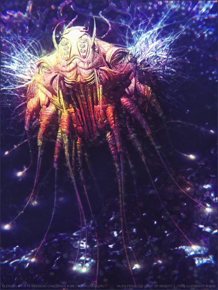 Alien from the Deep - By Robert J. Tiess