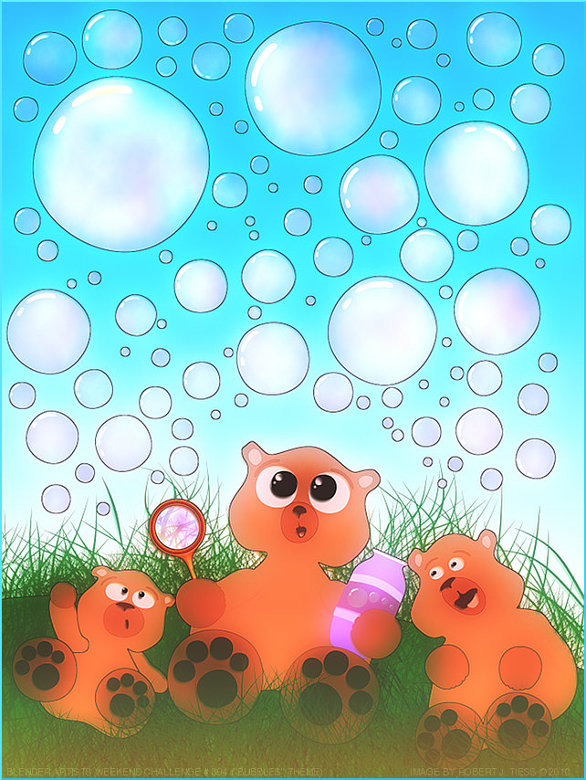 Bubbles - By Robert J. Tiess