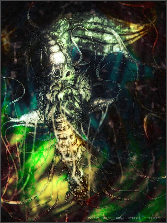 Space Shrimp - By Robert J. Tiess