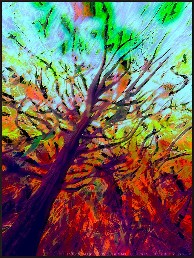A Leaf's Tale - By Robert J. Tiess