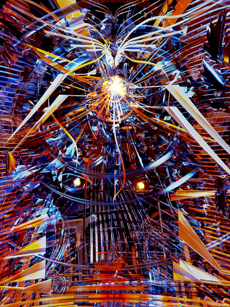 Machines Dream Differently - By Robert J. Tiess