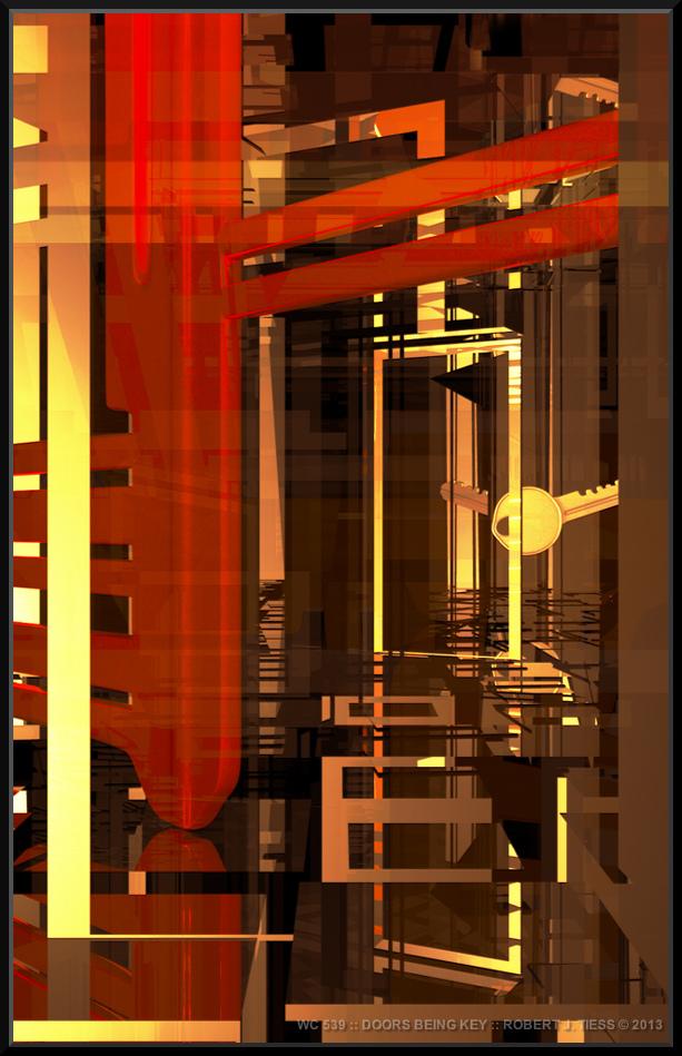 Doors Being Key - By Robert J. Tiess
