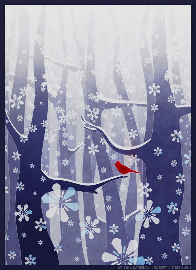 Cardinal - By Robert J. Tiess