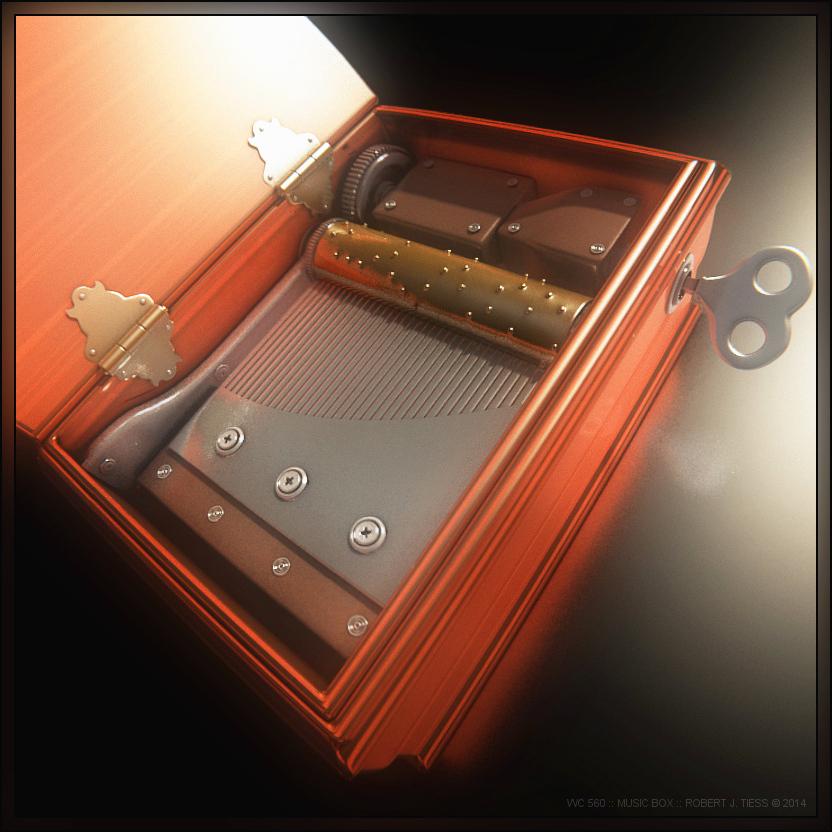 Music Box - By Robert J. Tiess