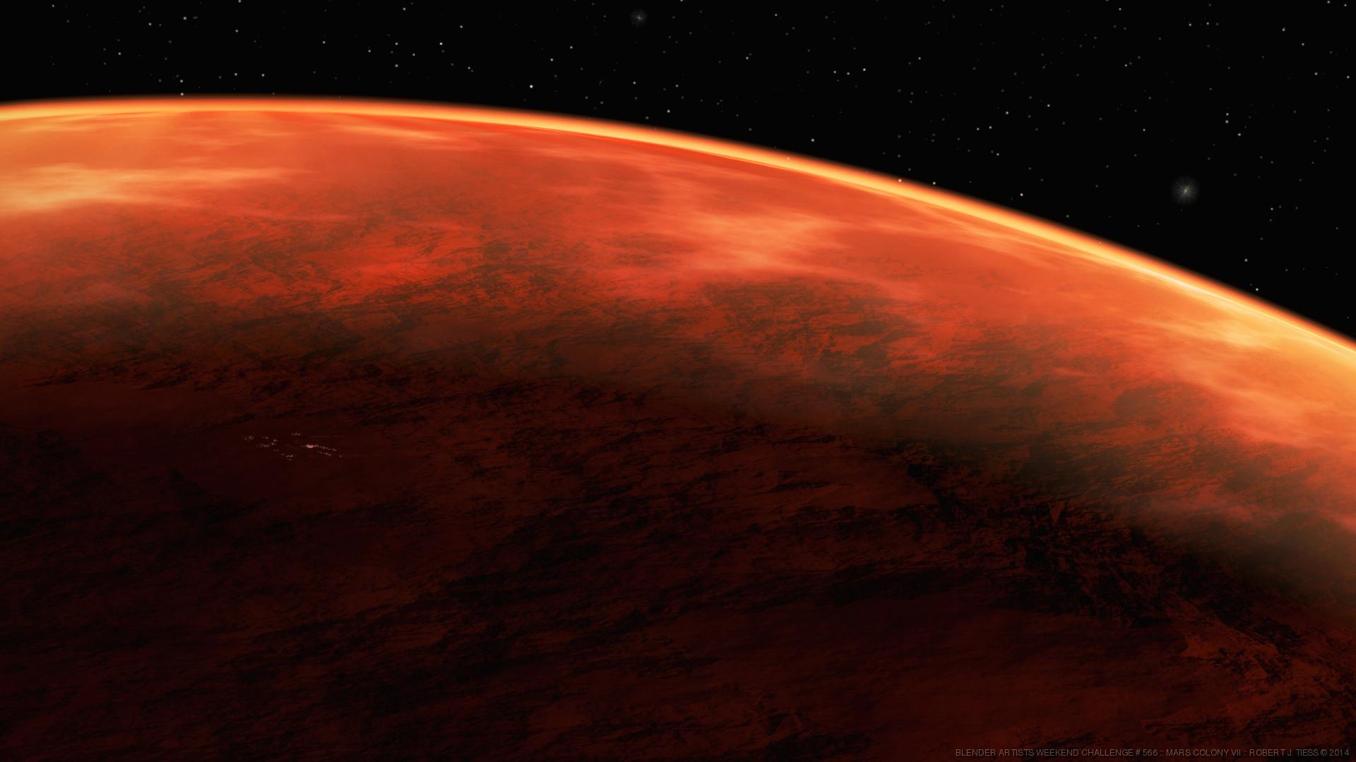 Mars Colony VII - By Robert J. Tiess