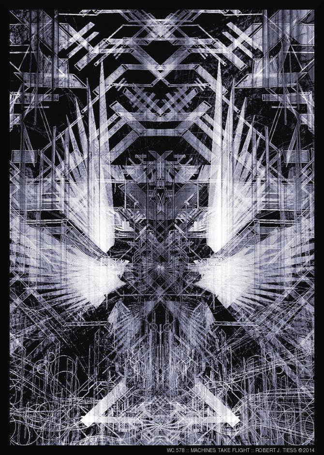 Machines Take Flight - By Robert J. Tiess