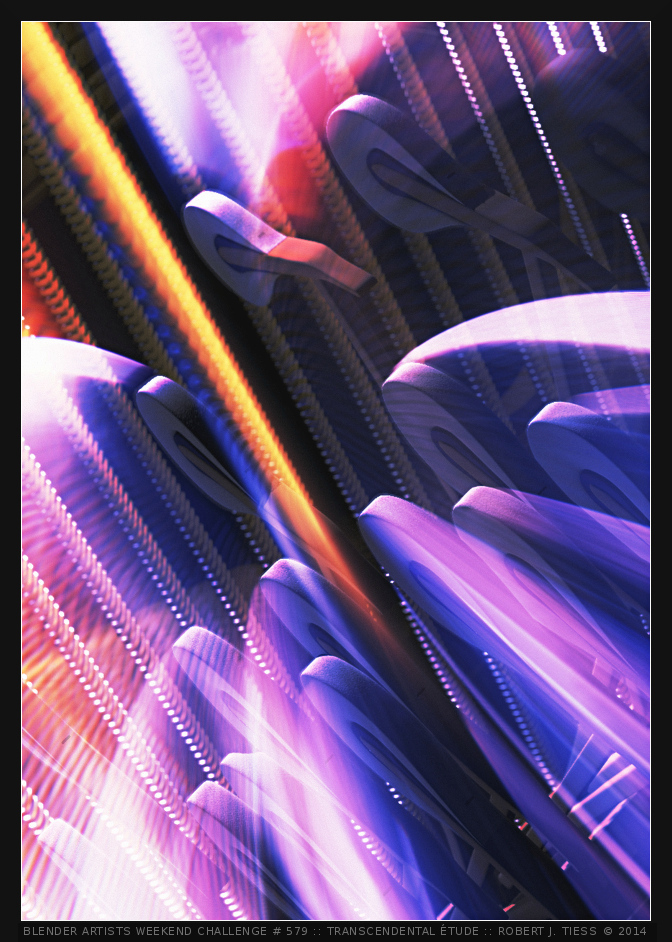 Transcendental Étude (Transcendental Etude) - By Robert J. Tiess