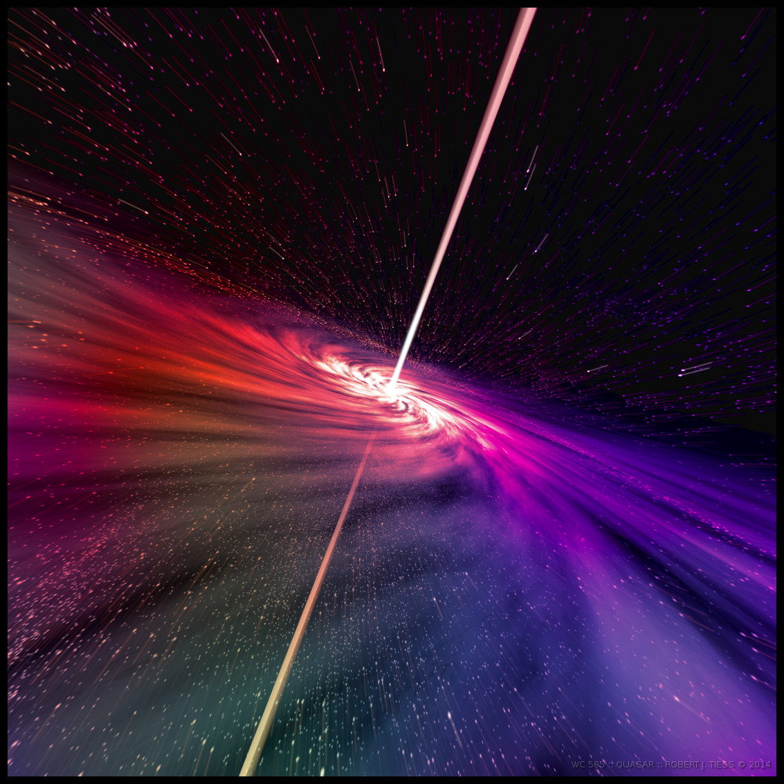 Quasar - By Robert J. Tiess