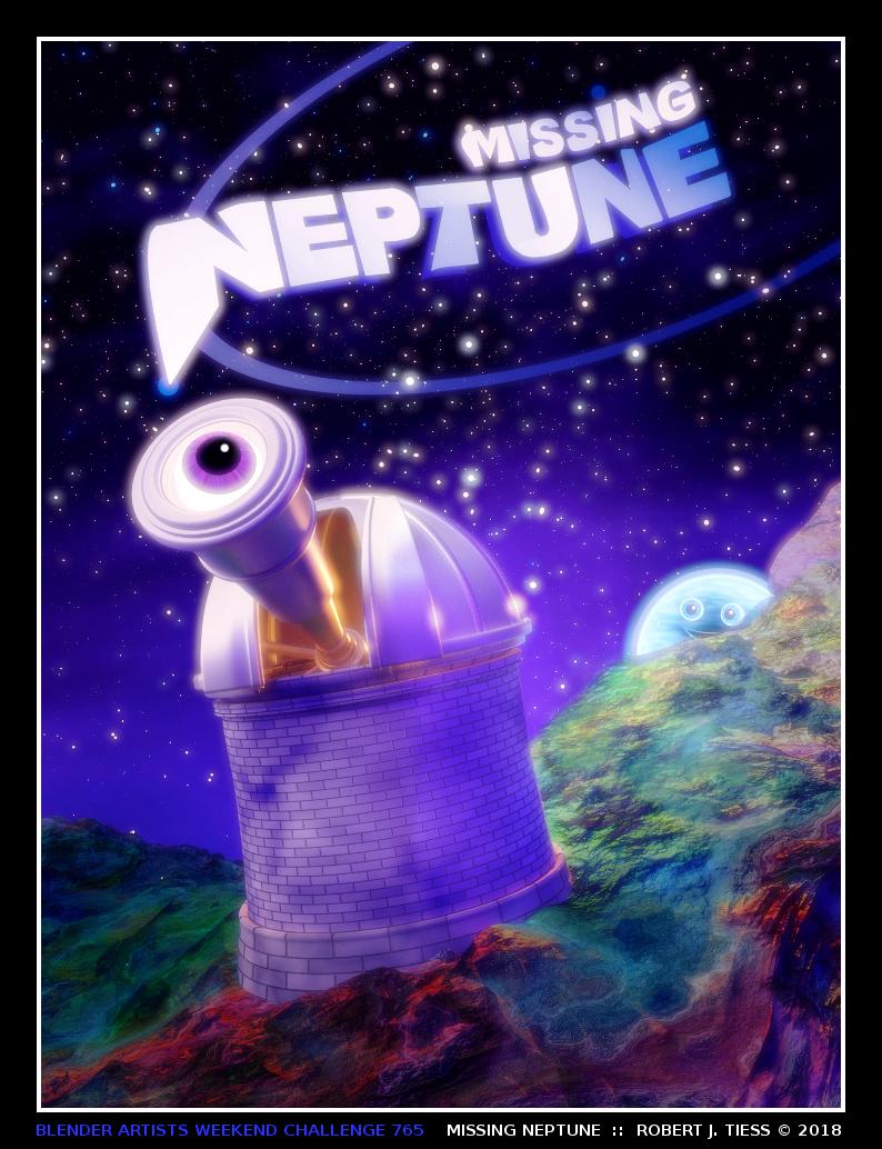 Missing Neptune - By Robert J. Tiess