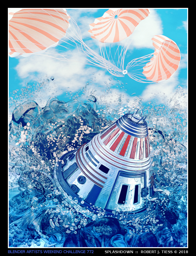 Splashdown - By Robert J. Tiess