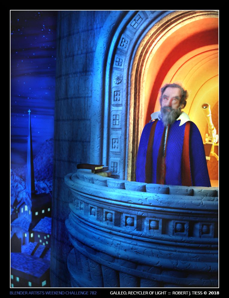 Galileo, Recycler of Light - By Robert J. Tiess