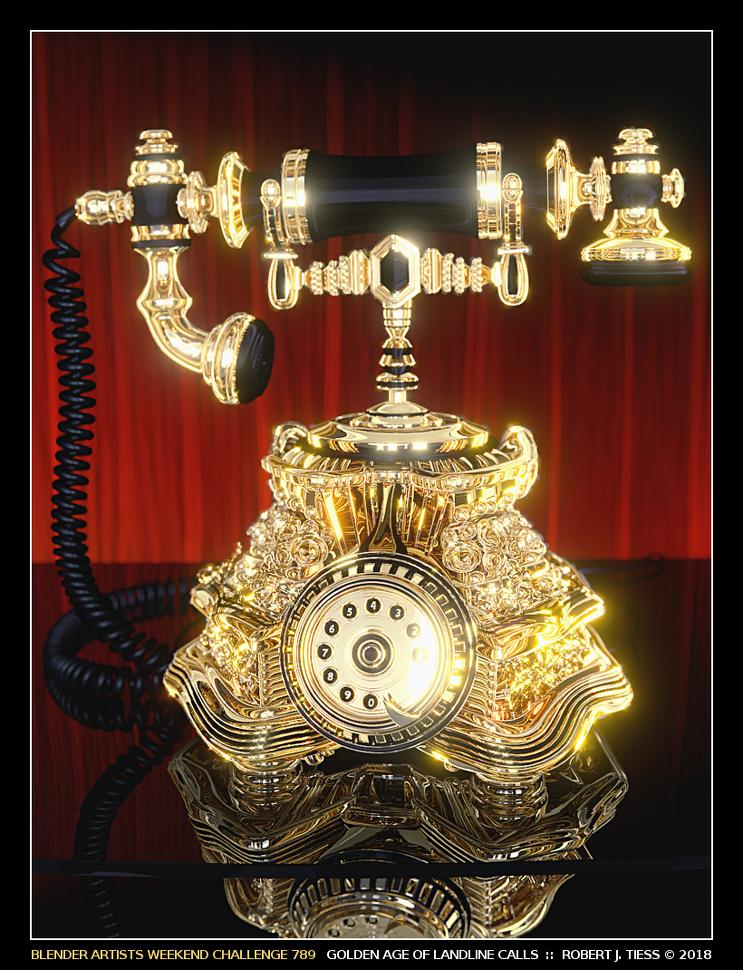 Golden Age of Landline Calls - By Robert J. Tiess