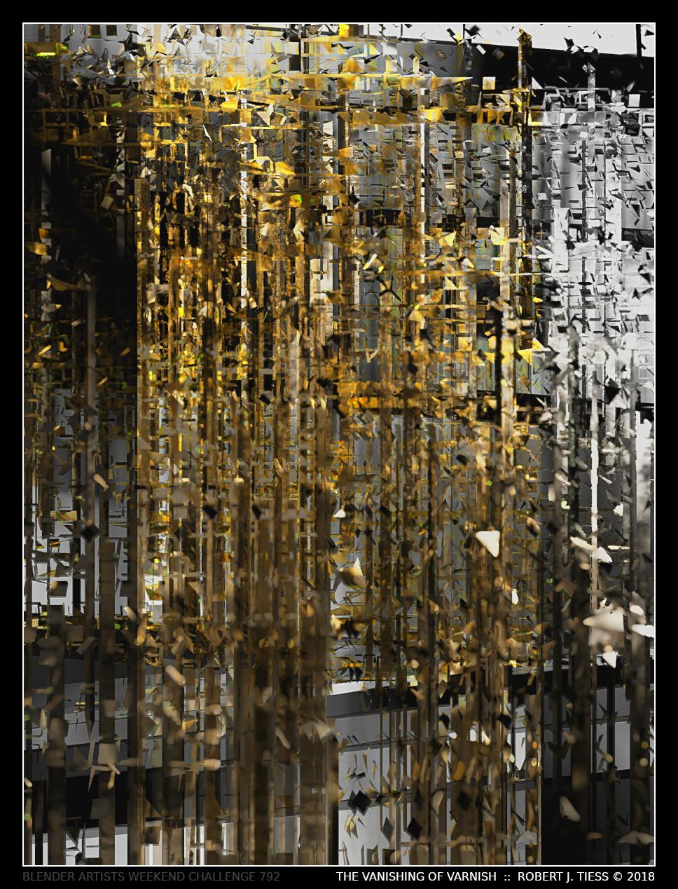 The Vanishing of Varnish - By Robert J. Tiess