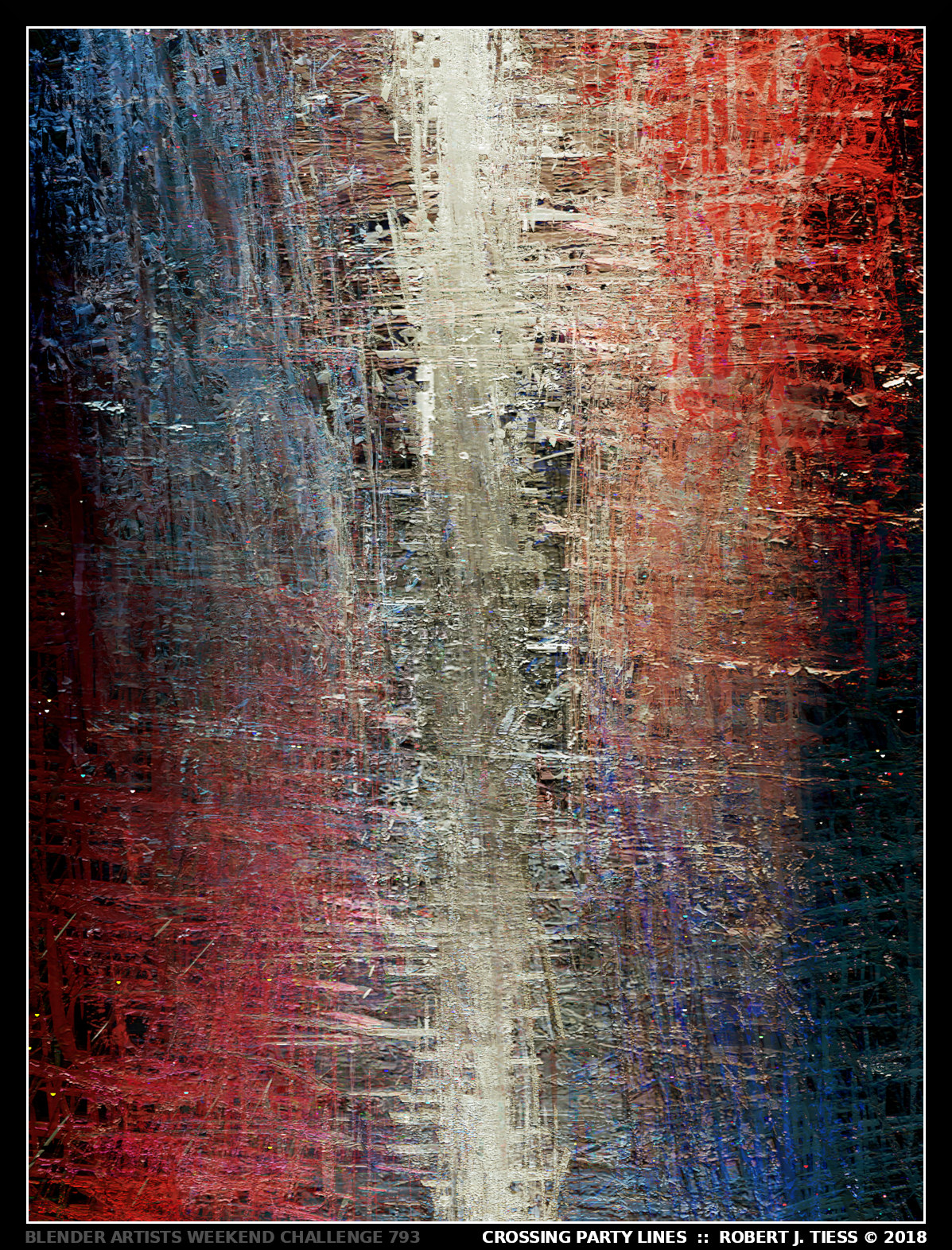 Crossing Party Lines - By Robert J. Tiess
