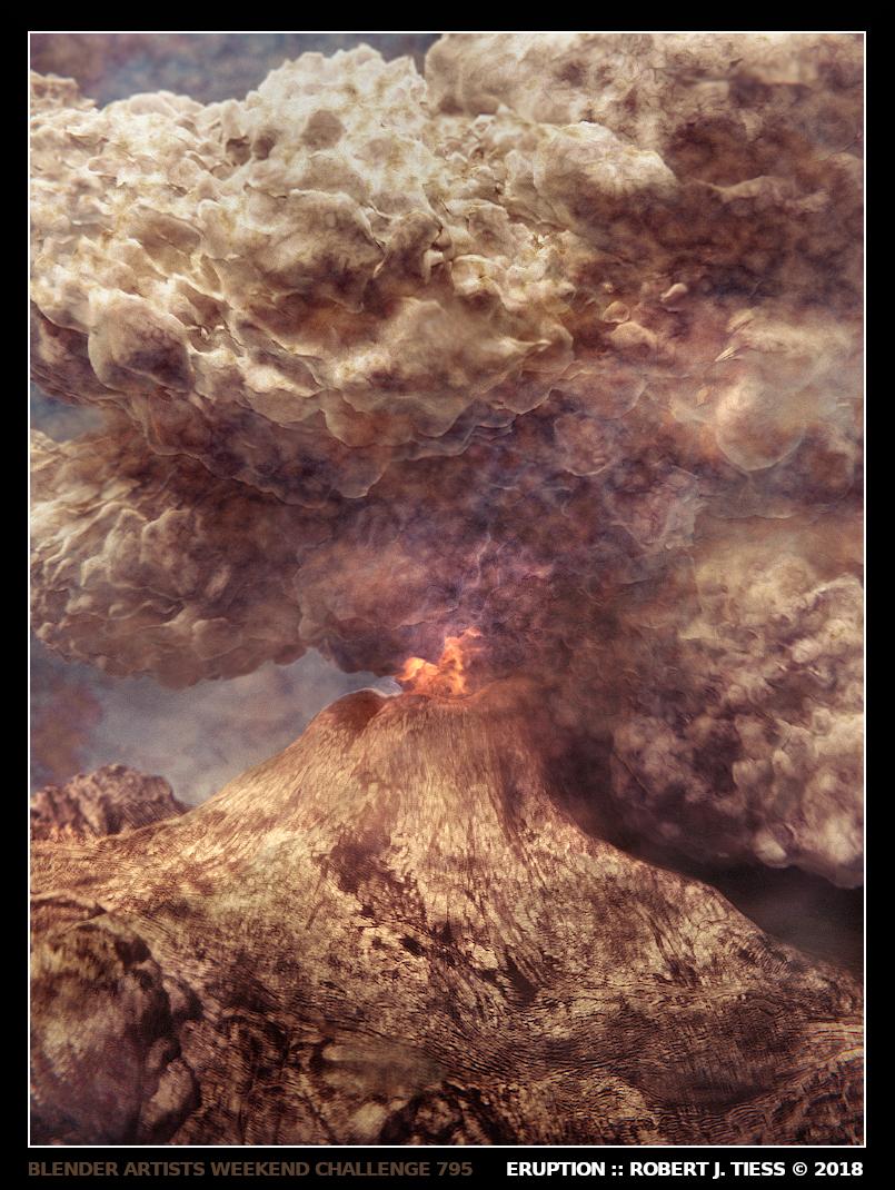 Eruption - By Robert J. Tiess
