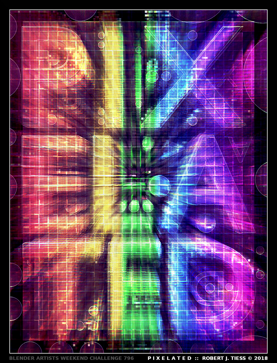 PIXELATED - By Robert J. Tiess