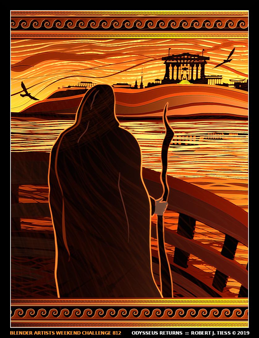 Odysseus Returns - By Robert J. Tiess