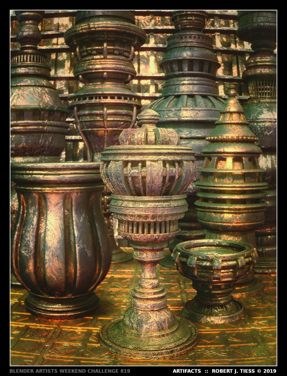 Artifacts - By Robert J. Tiess
