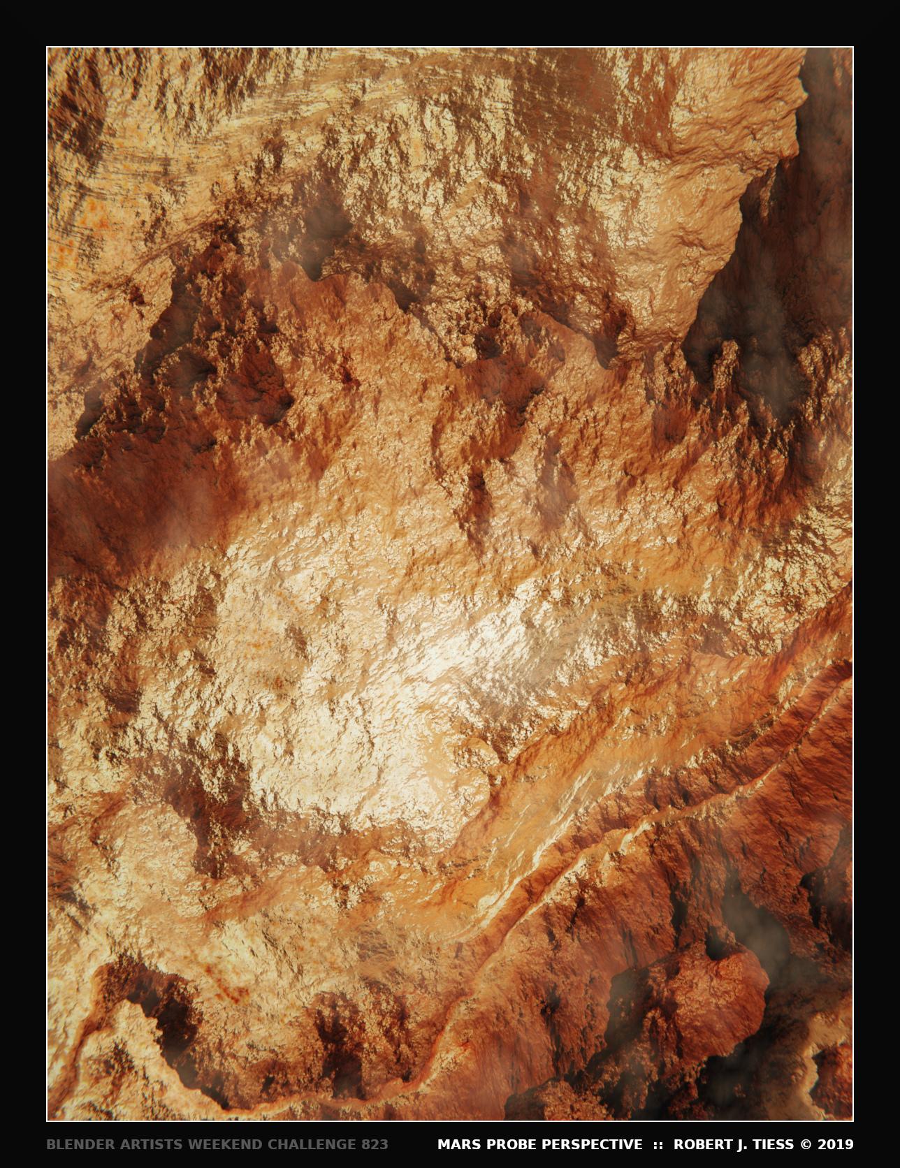Mars Probe Perspective - By Robert J. Tiess