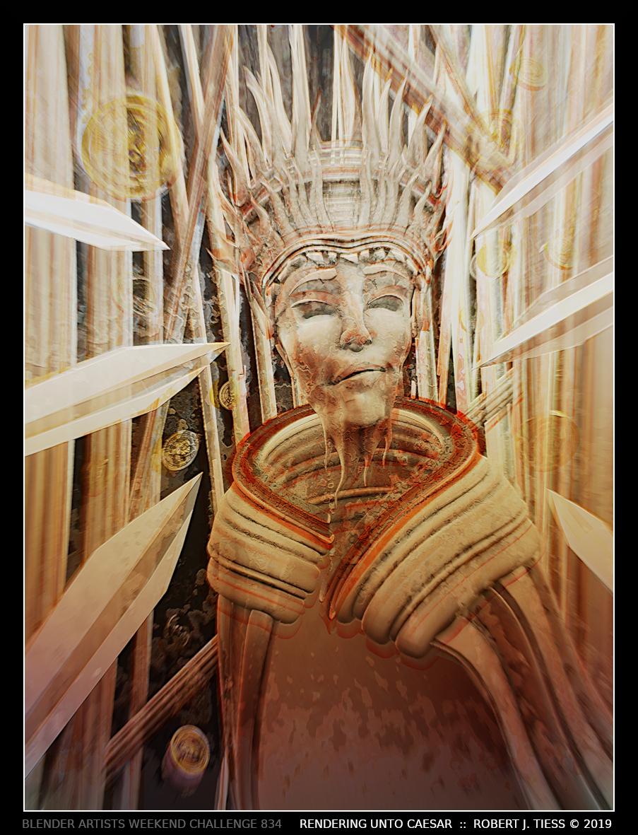 Rendering Unto Caesar - By Robert J. Tiess