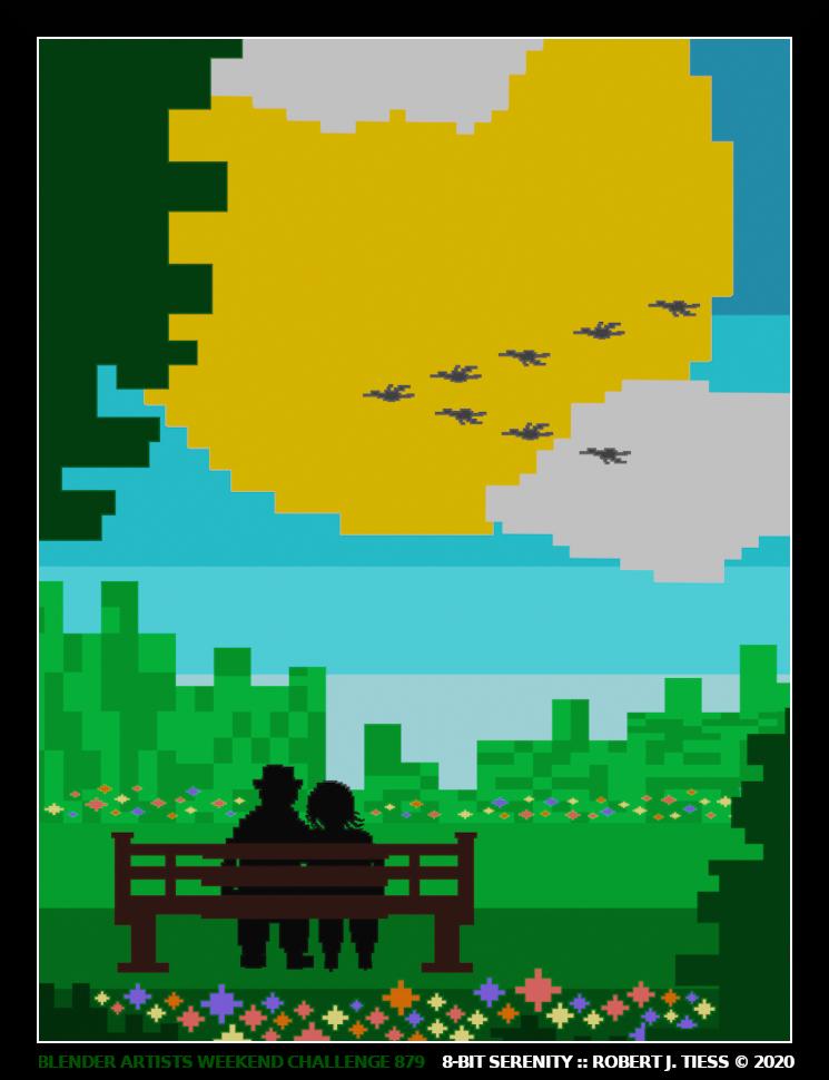 8-Bit Serenity - By Robert J. Tiess