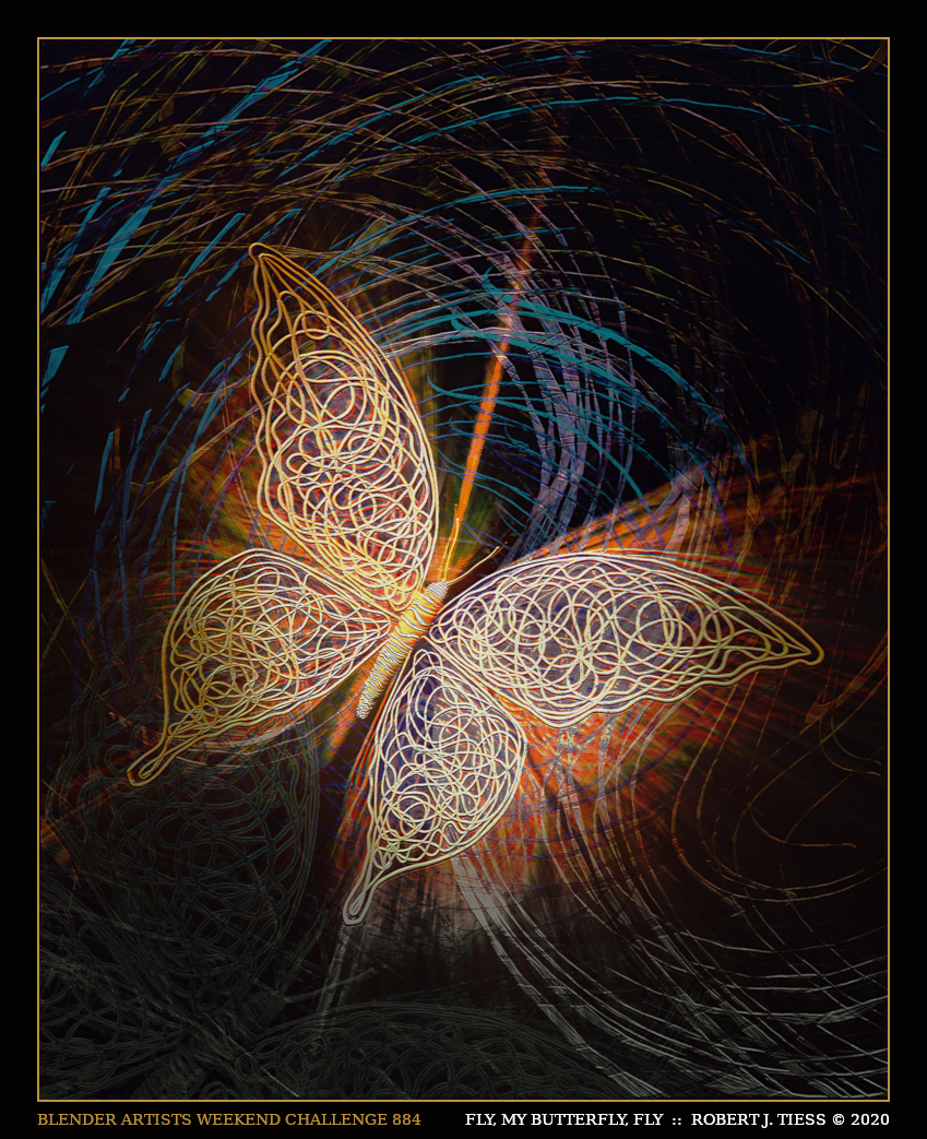 Fly, My Butterfly, Fly - By Robert J. Tiess
