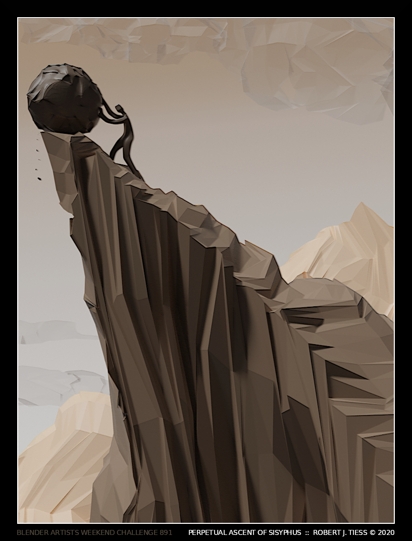 Perpetual Ascent of Sisyphus - By Robert J. Tiess
