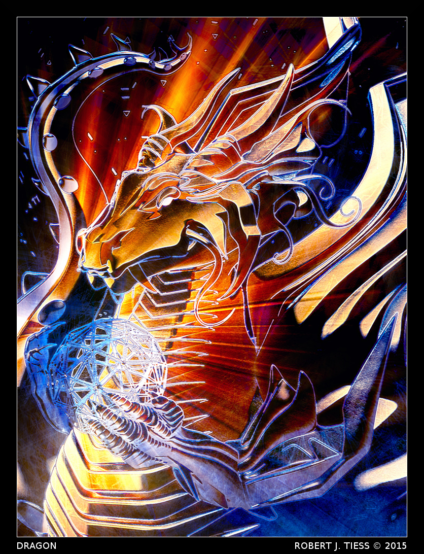 Dragon - By Robert J. Tiess