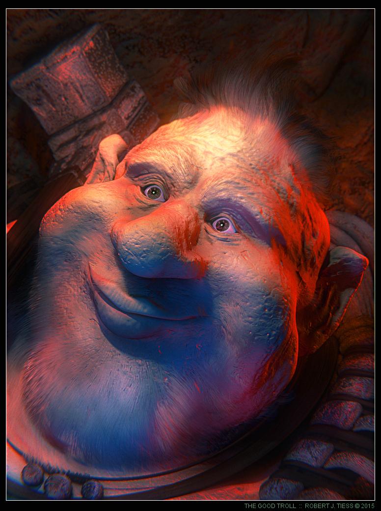 The Good Troll - By Robert J. Tiess