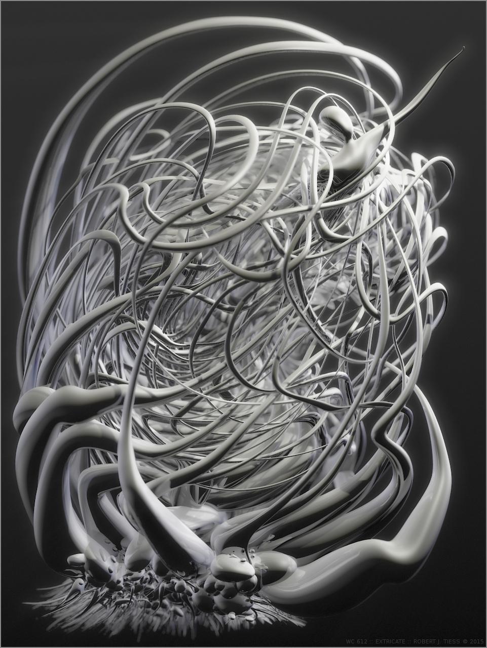 Extricate - By Robert J. Tiess