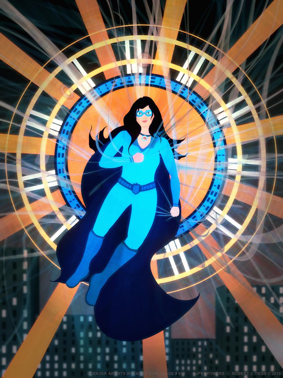 Superpowers - By Robert J. Tiess