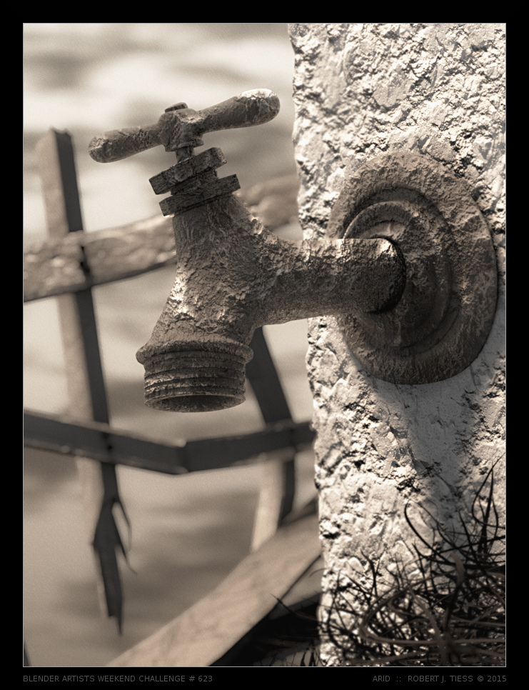 Arid - By Robert J. Tiess